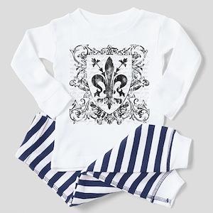 Florentine Fleur-de-lis Toddler Pajamas