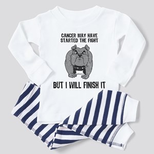 Cancer Started the Fight Toddler Pajamas
