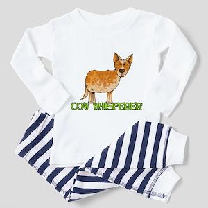 cow whisperer Toddler Pajamas
