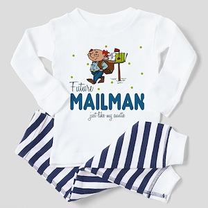 Future Mailman like Auntie Toddler Pajamas