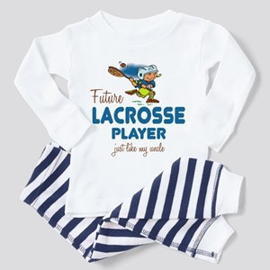 Future Lacrosse Player Like Uncle Toddler Pajamas