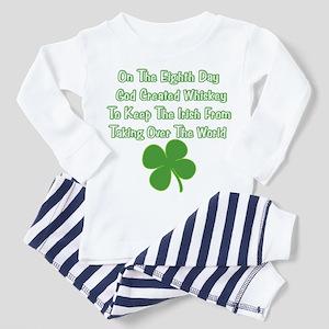 Irish Whiskey Toddler Pajamas