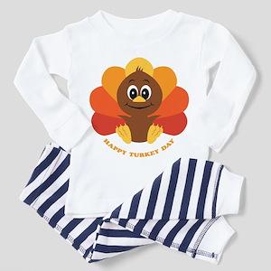 Baby Turkey Toddler Pajamas