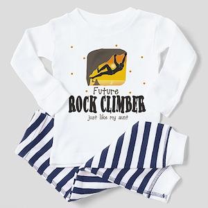 Future Rock Climber like Aunt Toddler Pajamas