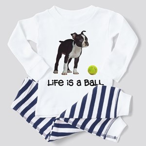 Boston Terrier Life Toddler Pajamas