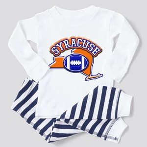 Syracuse Football Toddler Pajamas