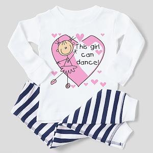 This Girl Can Dance Toddler Pajamas