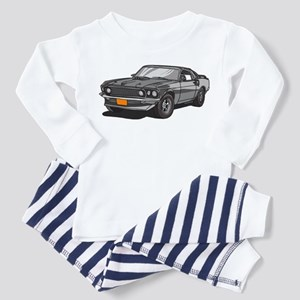 1969 Ford Mustang Mach 1 Toddler Pajamas
