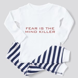 Fear Is The Mind Killer Toddler Pajamas