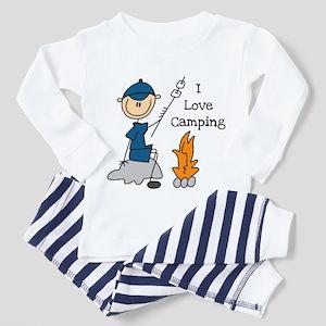 I Love Camping Toddler Pajamas