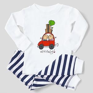 Car We're Moving Toddler Pajamas