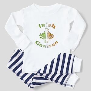 Irish German Toddler Pajamas