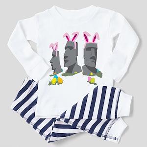 Easter Island Toddler Pajamas