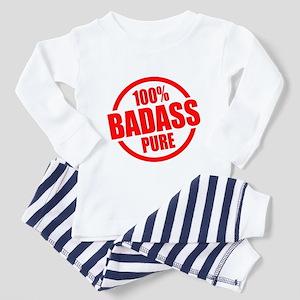 100% Pure BADASS Toddler Pajamas