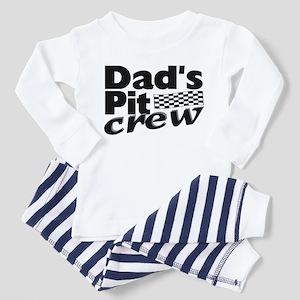 Dad's Pit Crew Toddler Pajamas