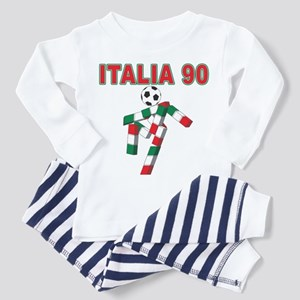Retro 1990 Italia world cup Toddler Pajamas