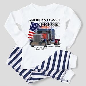 Classic Peterbilt Truck Toddler Pajamas