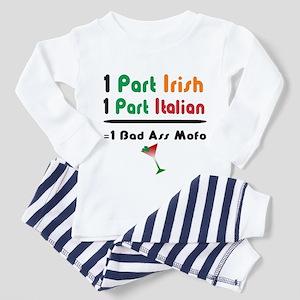 Part Irish Part Italian Toddler Pajamas