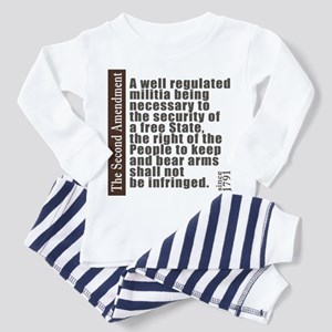 2nd Amendment Toddler Pajamas
