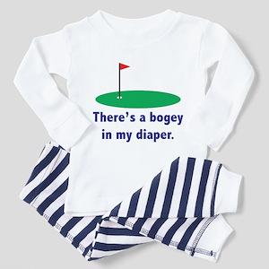 Bogey in my Diaper Toddler Pajamas