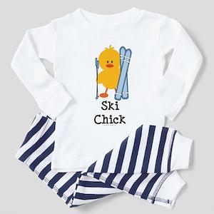 Ski Chick Toddler Pajamas