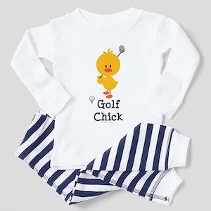 Golf Chick Toddler Pajamas