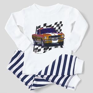 1966 Mustang Toddler Pajamas
