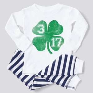 St Patricks Day 3/17 Shamrock Toddler T-Shi