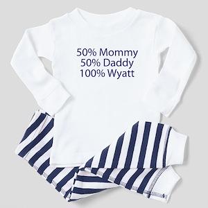 100% Wyatt Toddler Pajamas