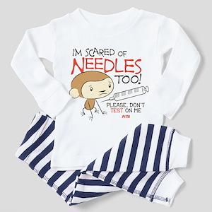 I'm Scared of Needles Too Toddler Pajamas