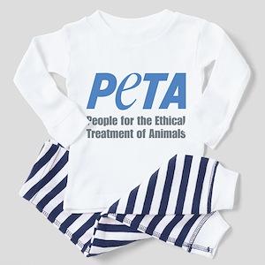 PETA Logo Toddler Pajamas