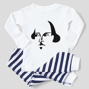 Simple Shakespeare Toddler Pajamas