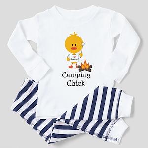 Camping Chick Toddler Pajamas