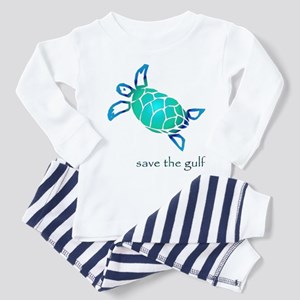 save the gulf - sea turtle bl Toddler T-Shi