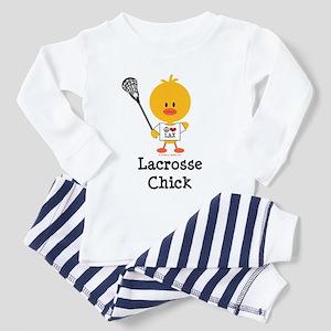 Lacrosse Chick Toddler Pajamas