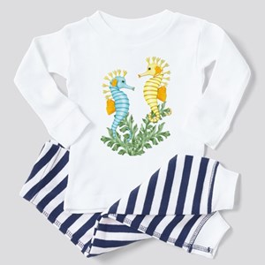 Seahorse Fantasy Toddler Pajamas