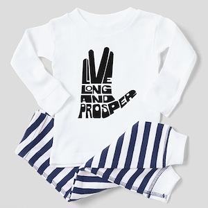 Live long and Prosper Toddler Pajamas