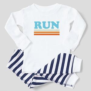 Retro RUN Toddler Pajamas