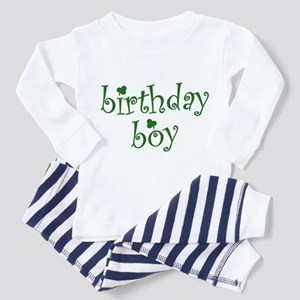 St. Patricks Day Birthday Boy Toddler Pajamas
