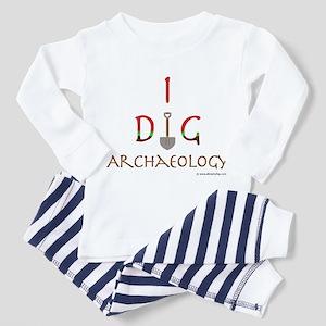 I Dig Archaeology Toddler Pajamas