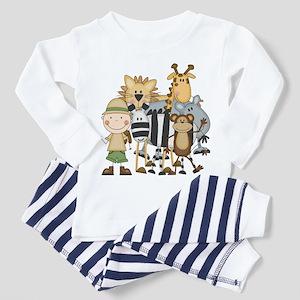 Boy on Safari Toddler Pajamas