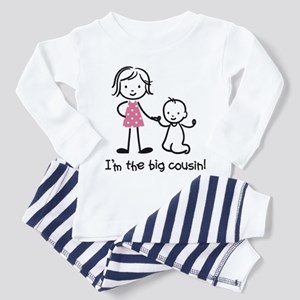 Big Cousin - Stick Characters Toddler Pajamas