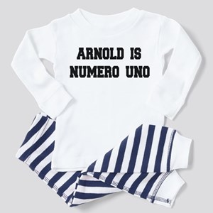 Arnold is Numero Uno Toddler Pajamas