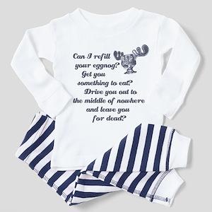 Refill Your Eggnog Toddler Pajamas
