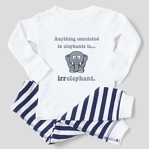 Irrelephant Toddler Pajamas