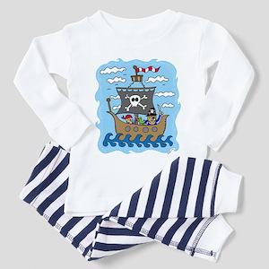 Pirate Ship Toddler Pajamas
