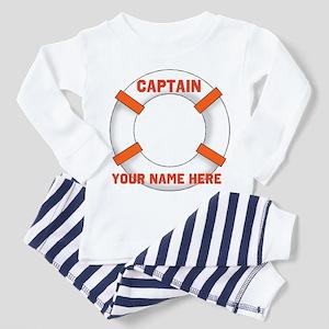 Customizable Life Preserver Toddler Pajamas