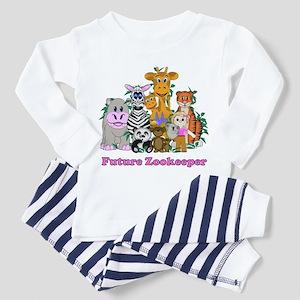 Future Zookeeper Girl Toddler Pajamas