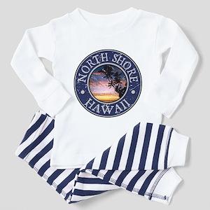 North Shore, Hawaii Toddler Pajamas