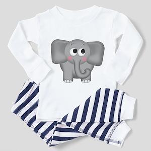Adorable Elephant Toddler Pajamas